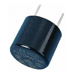 Schurter 0.05A Radial F Leaded PCB Mount Fuse, 250V ac