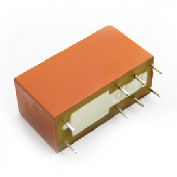 Relay 6VDC 8A DPDT pin