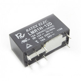 RELAY 10A SPDT 8 PIN 12VDC 5MM