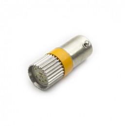 BA9S Led Lamp Orange 24V AC/DC