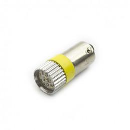 BA9S Led Lamp Yellow 24V AC/DC