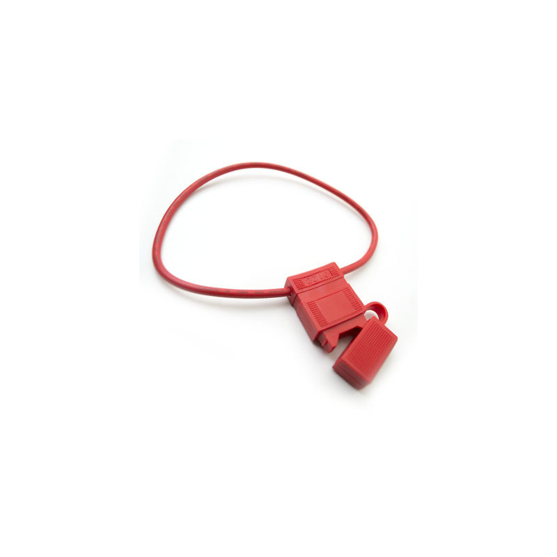 Fuse holder inline Auto Red