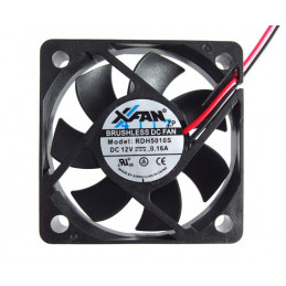 Fan 50x50x10 12V DC 2Wire