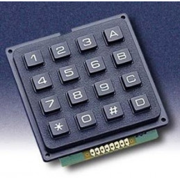 Matrix Keypad 16 Button 4x4 8Pin