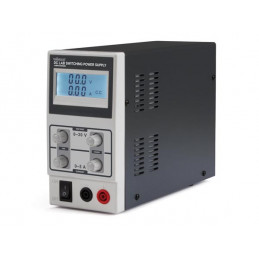DC lab switching mode power supply 0-30Vdc/0-5A