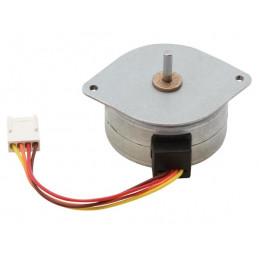 Stepper motor 24vdc/600ma (angle 7.5deg/48 steps)