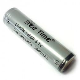 18650 Lithium Ion Rechargable 3.7V 2600mAh