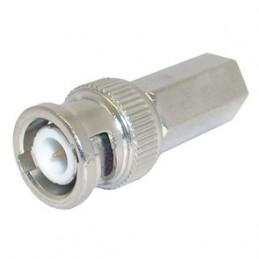 BNC Plug inline Twist 5mm RG58