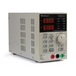 Programmable DC lab power supply 0-30 vdc /5a max dual led displ