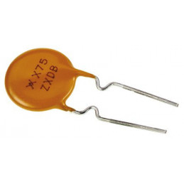 0.75A Radial Leaded PCB Mount Resettable Fuse, 72 V
