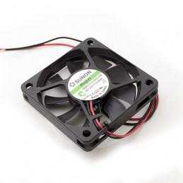 Fan 60x60x10 12VDC 2 Wire