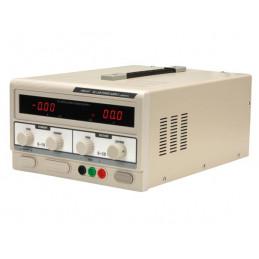 DC lab power supply 0-30VDC 0-10A dual led display
