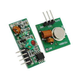 Arduino RF 433mHz transmitter/reciever boards