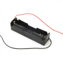 Battery Holder 1x18650 wired