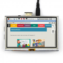 5 Inch 800 x 480 HDMI TFT LCD Touch Screen For Raspberry