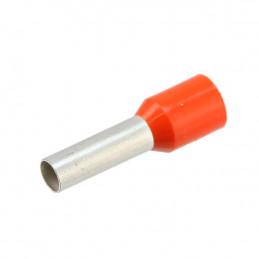 Insulated Ferrule Bootlace Terminal Orange 4mm - 100 pack