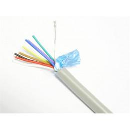 Mylar cable screened 4 Pair - Per Metre