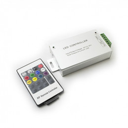 LED RGB Controller 24A with RF remote