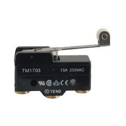 B183K micro switch SPDT R/Lever 48mm 15A