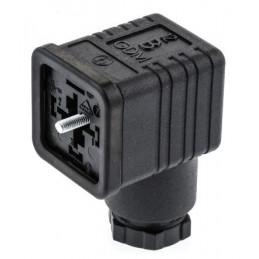 Hirschmann 2P+E Connector, Female, Central Nut, GDM Series, 16A