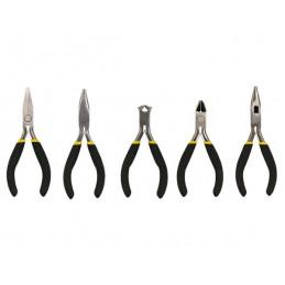 Mini plier set - 5 pcs