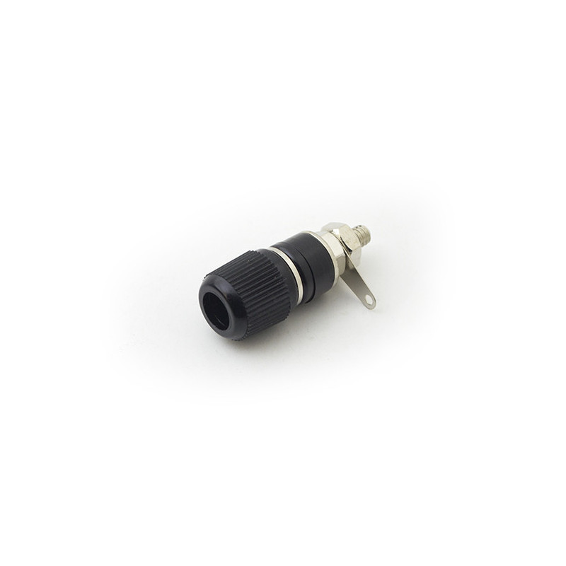 K200A Banana Socket 4mm Black