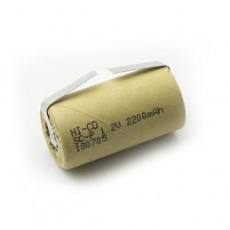 NiCD Sub C with Tags - 2200mAh
