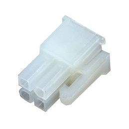 6740-04R Receptacle, Mini Power, 4.2mm, 4 Way