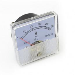 Panel Meter 60X60 - Voltmeter 250V AC