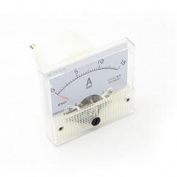 Panel Meter 60X55 - Ammeter 15A DC