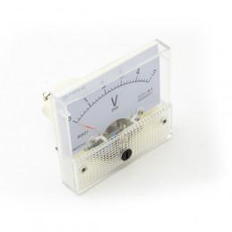 Panel Meter 60X55 - Voltmeter 5V DC