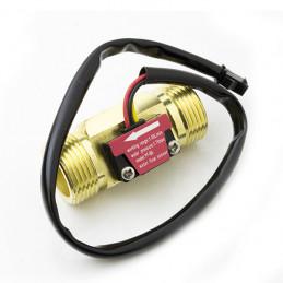 FLOW SENSOR 3/4 BRASS MATERIAL 60mm cable, YF-B6