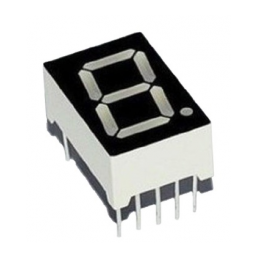 14.22mm 1 Digit Numeric LED Display 7Seg Red Common Cathode