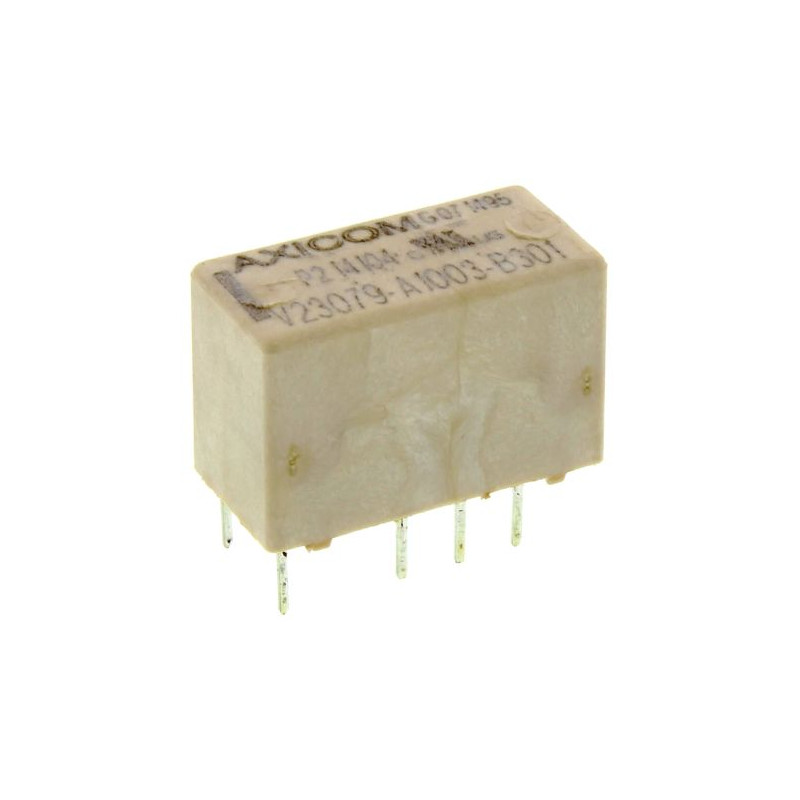 TE Connectivity DPDT Non-Latching Relay PCB Mount 12V dc Coil 2