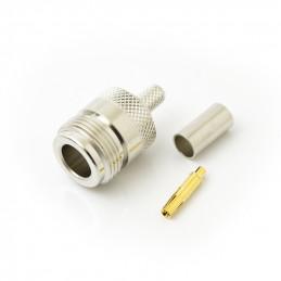 Socket N-type crimp RG58