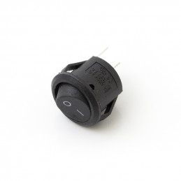 Rocker Switch Round 2 Pin on-off 14mm