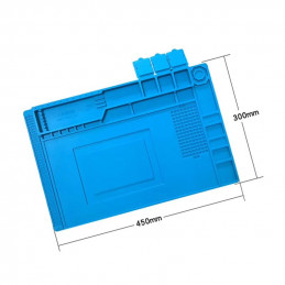 Heat Resistant Magnetic Silicone mat for repair 300x450mm