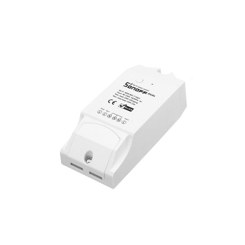 Dual channel SONOFF® DIY Wi-Fi Wireless Switch For Smart Home
