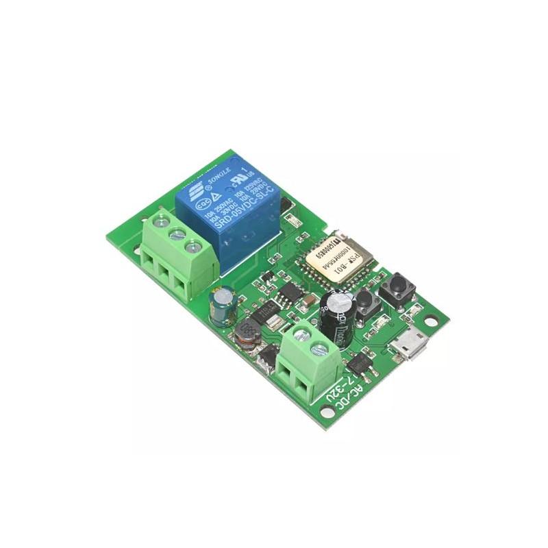 Sonoff WiFi Smart Switch Home Relay Module 5V-32V Self-locking