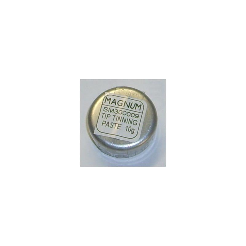 Soldering iron tip cleaner/tinner
