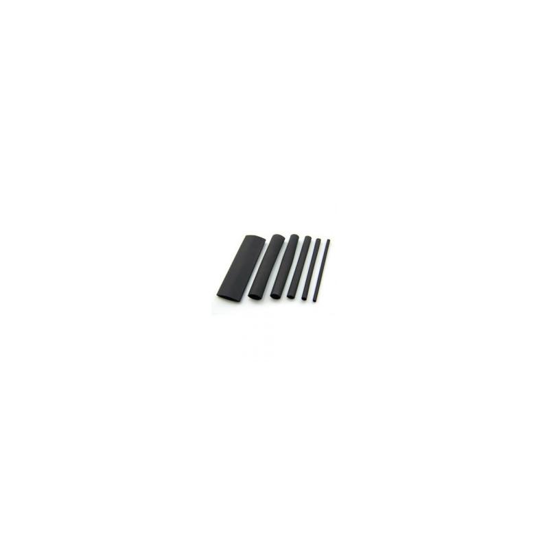 Heat Shrink Tubing 50MM BLACK - Per Metre