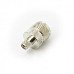 PL259 UHF Socket to SMA Socket Adaptor