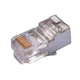 Modular connector Shielded RJ45 8p