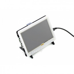 5inch HDMI LCD + Bi-colour case for Raspberry Pi