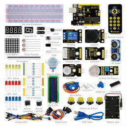Advanced arduino uno R3 starter kit