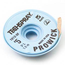 Techspray Prowick Desolder wick 3.3mm Brown