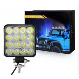48W 16led LED Spot light 12VDC - narrow beam