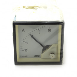 Panel Meter 72x72mm 10-0-10ADC