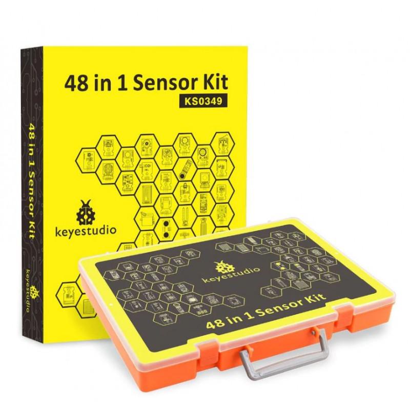 Keyestudio 48 in 1 Sensor Starter Kit