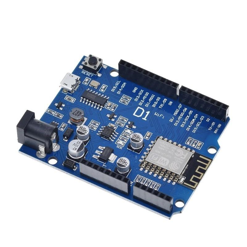 Wemos D1 Wifi - ESP8266 development board (Arduino Compatible)